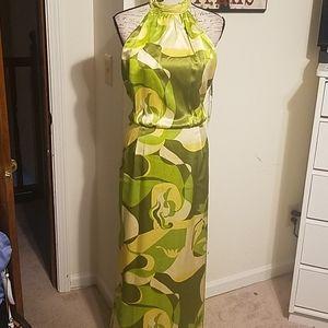 KAY UNGER LONG DRESS